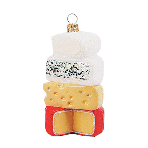 CHEESE STACK ORNAMENT