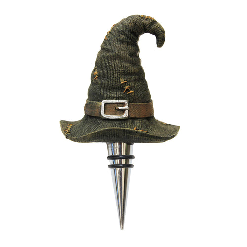 WITCH'S HAT BOTTLE STOPPER