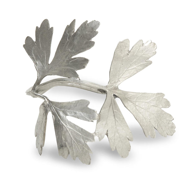 HERB NAPKIN RINGS FOR FOUR