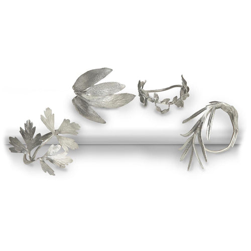 Michael Michaud Herb Napkin Rings
