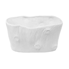 Oval Modern Faux Tree Planter
