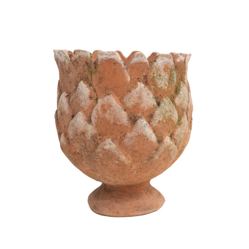 "7"" Pinecone Terracotta Planter"