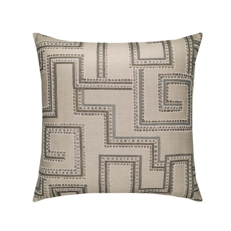 "22""x 22"" Bakhmal Indigo Outdoor Pillow"