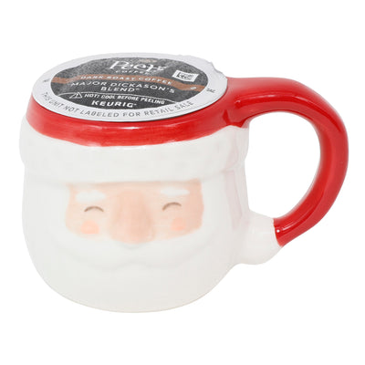 Santa Coffee Pod Mug Ornament