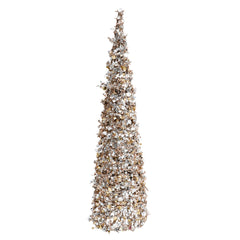 Lg Champagne Sequin Christmas Tree