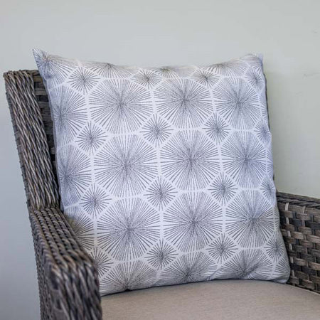 20x20 TEXTURED GRIGIO PILLOW