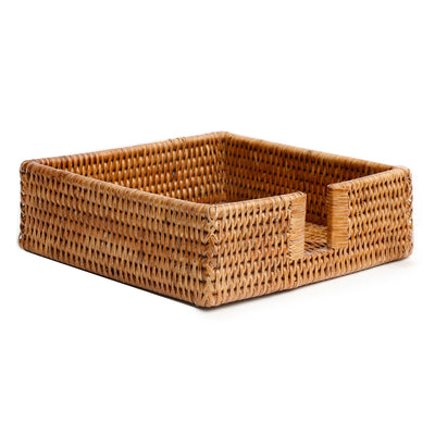 Rattan Luncheon Napkin Holder
