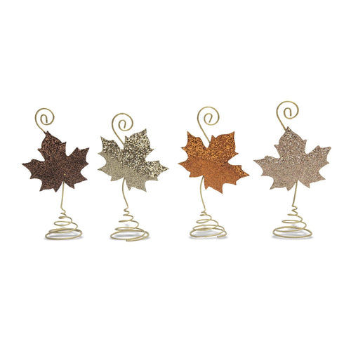 Leaves Place Card Holders - Set of 4