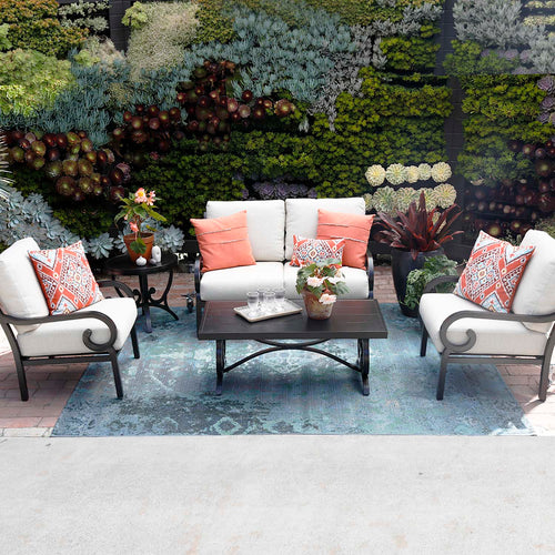 Estancia 3 Pc. Loveseat and Club Chair Set