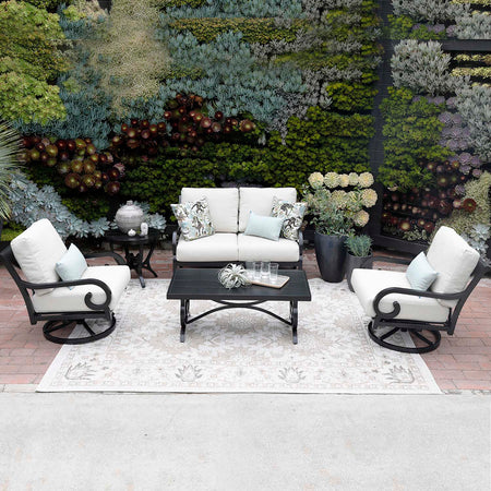 WESTCLIFF 3 PC LOVESEAT & 2 CLUB SET