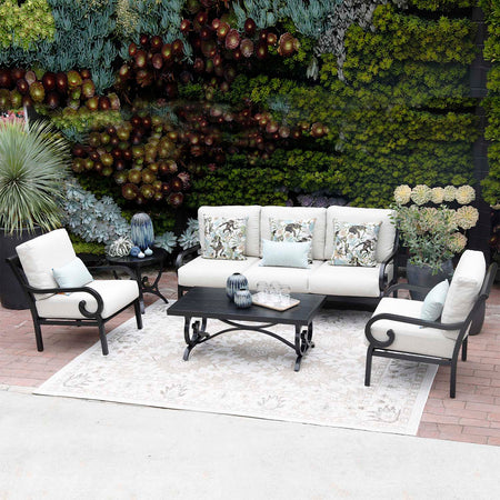 Estancia 3 Pc. Loveseat and Swivel Club Chair Set