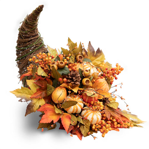 Cornucopia Fall Silk Centerpiece