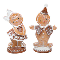 Glitter Gingerbread Guy and Gal Set