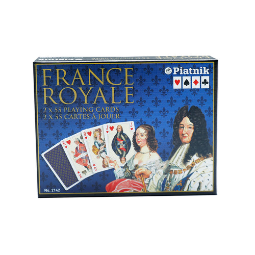 France Royale Double Deck Playing Cards