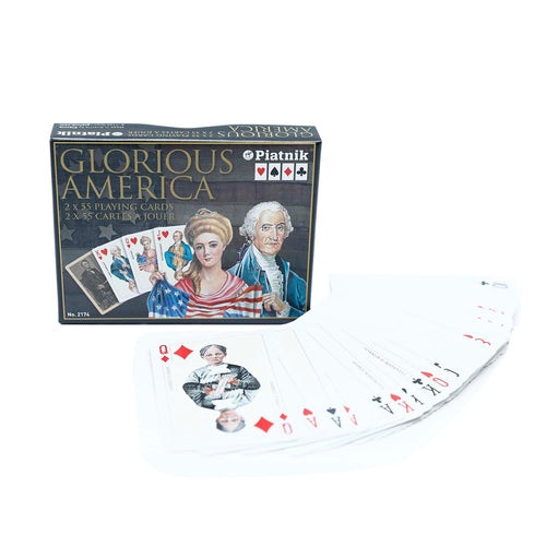 Glorious America Double Deck Playing Cards