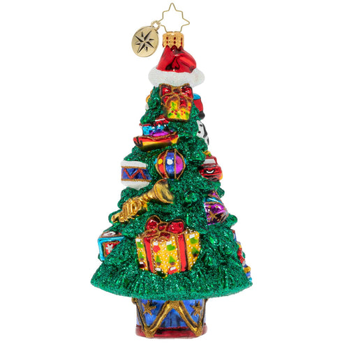 A TOY-TRIMMED TREE