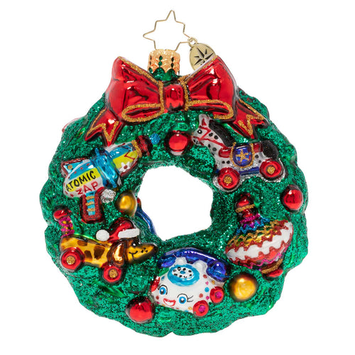 A TREASURE-FILLED WREATH