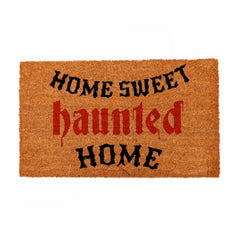 Haunted Home Halloween Doormat