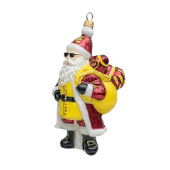 USC SANTA WITH SUNGLASSES