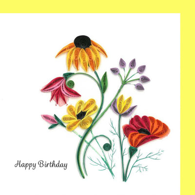 Wildflower Birthday Blooms