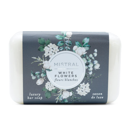 MISTRAL WHITE FLOWERS CLASSIC BAR SOAP
