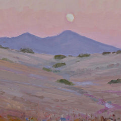 Moonrise Above Saddleback