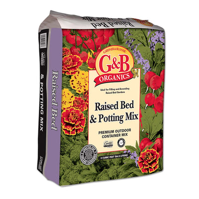 G&B Organic Raised Bed & Potting Mix 2 Cu.Ft.