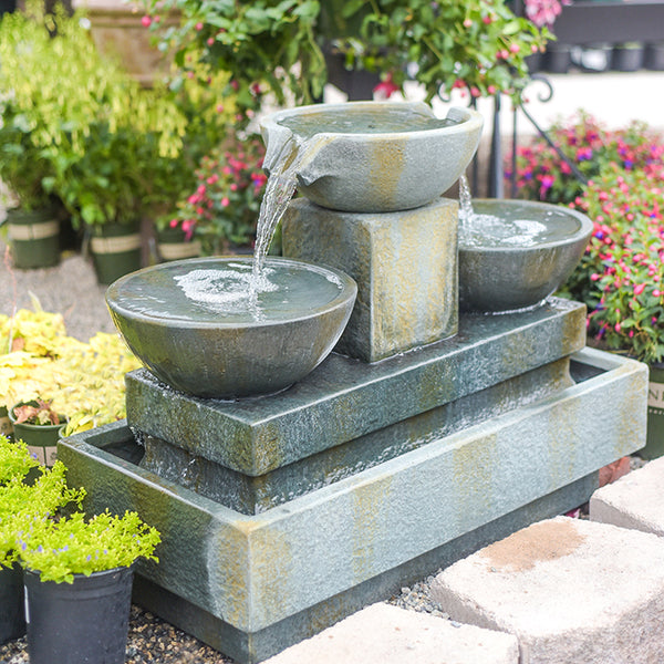 PETITE VILLANDRY FOUNTAIN - SMALL TRIPLE