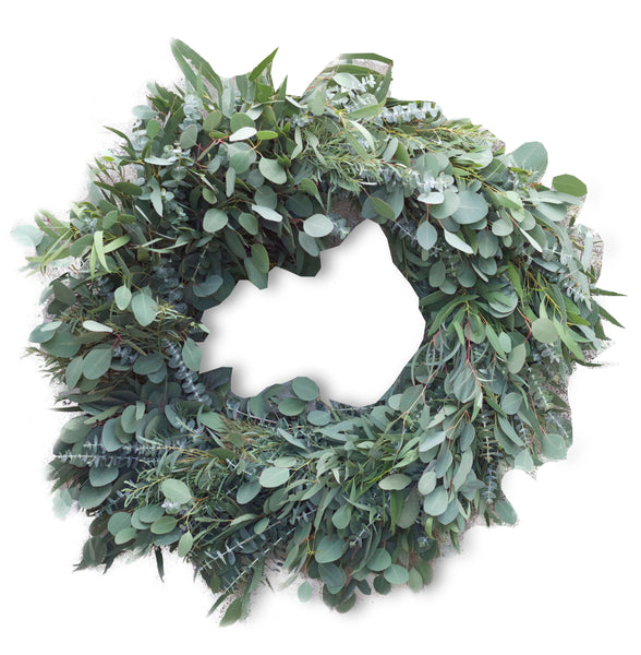 EUCALYPTUS WREATH 12""