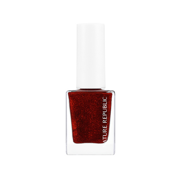 COLOR & NATURE NAIL COLOR 63 WILD RED