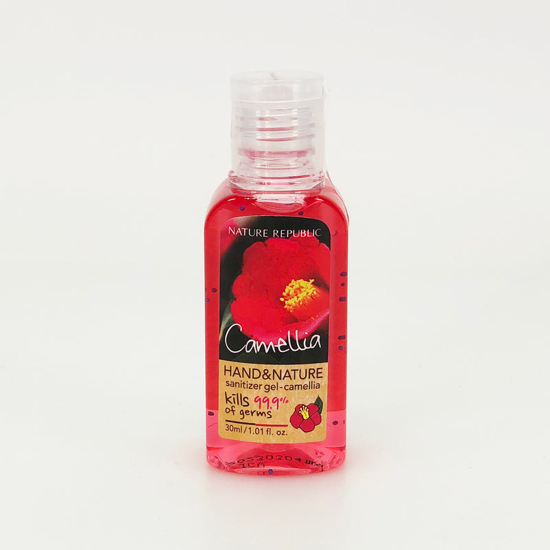 HAND & NATURE SANITIZER GEL