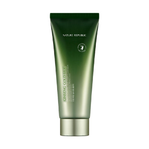 GINSENG GOLD SILK FOAM CLEANSER - NatureRepublic USA