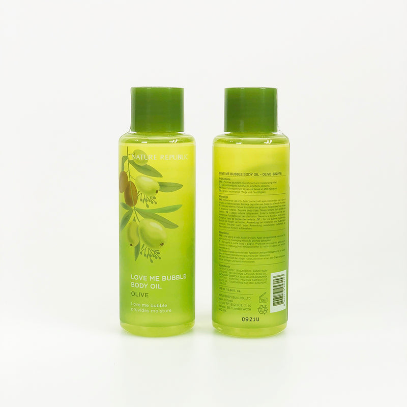 LOVE ME BUBBLE BODY OIL - NatureRepublic USA