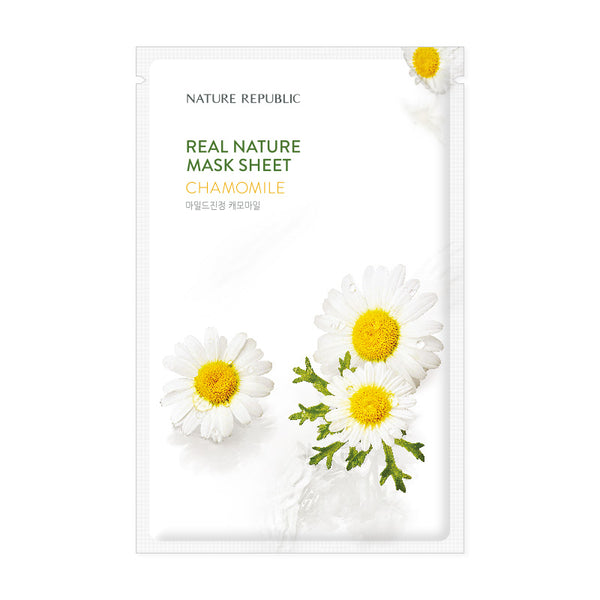 REAL NATURE CHAMOMILE MASK SHEET - NatureRepublic USA