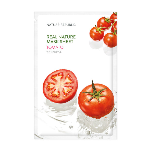 REAL NATURE TOMATO MASK SHEET - NatureRepublic USA