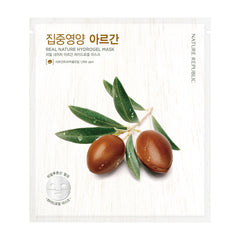 REAL NATURE ARGAN HYDROGEL MASK - NatureRepublic USA