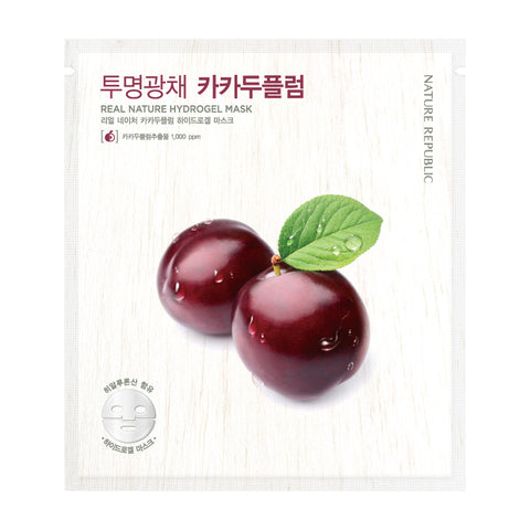 REAL NATURE KAKADU PLUM HYDROGEL MASK - NatureRepublic USA