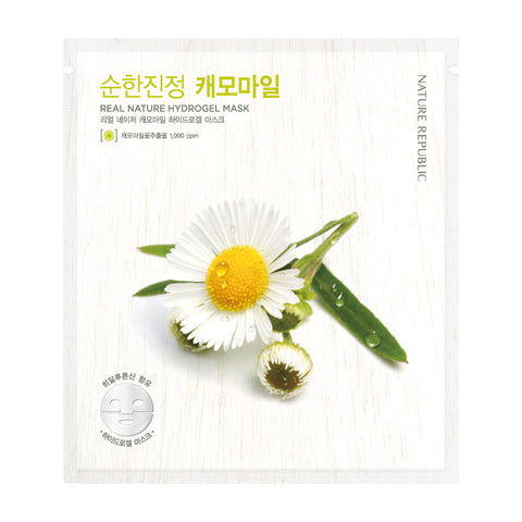 REAL NATURE CHAMOMILE HYDROGEL MASK - NatureRepublic USA
