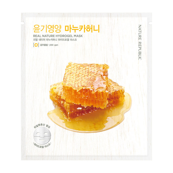 REAL NATURE MANUKA HONEY HYDROGEL MASK - NatureRepublic USA