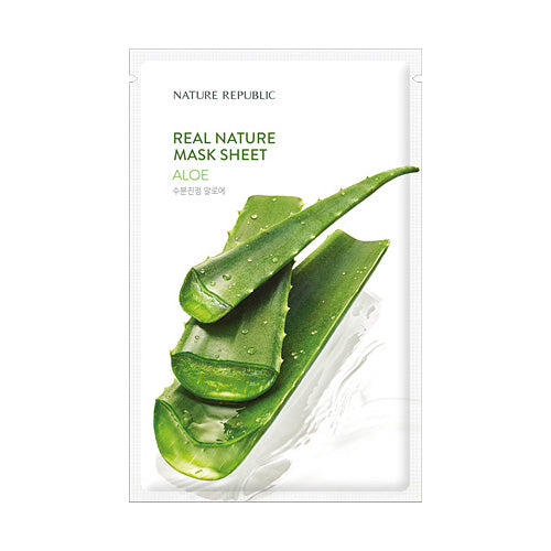 REAL NATURE ALOE MASK SHEET - NatureRepublic USA