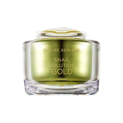 SNAIL SOLUTION GOLD CREAM(RR) - NatureRepublic USA