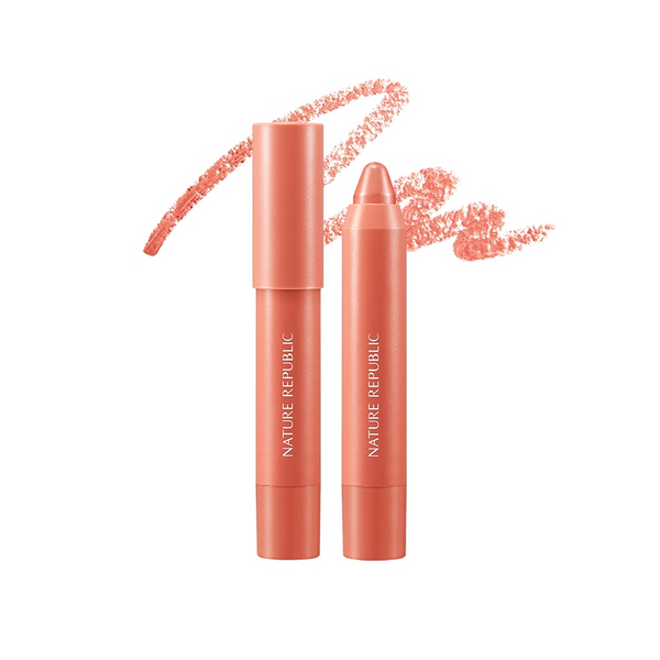 ECO CRAYON LIP VELVET 01 ANGEL BLUSH