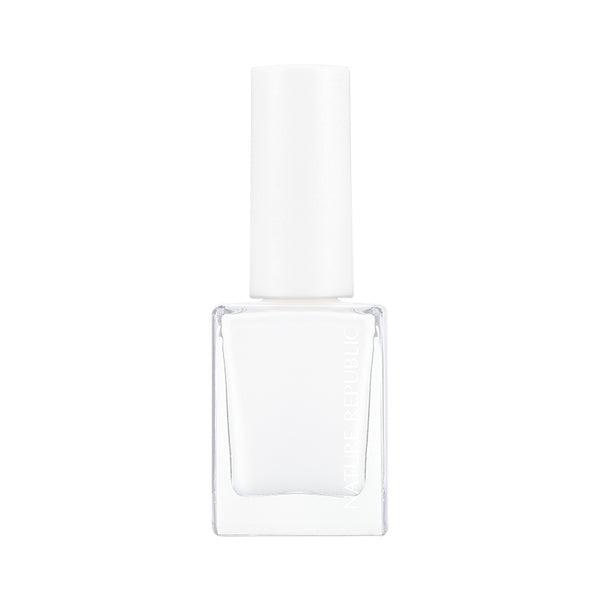 COLOR & NATURE NAIL COLOR 28 WHITE CREAM