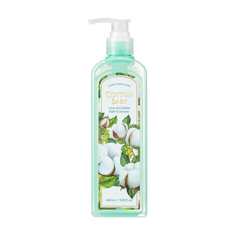 LOVE ME BUBBLE BATH & SHOWER GEL - COTTON BABY