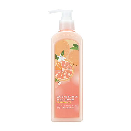 LOVE ME BUBBLE BATH & SHOWER GEL - GRAPEFRUITS