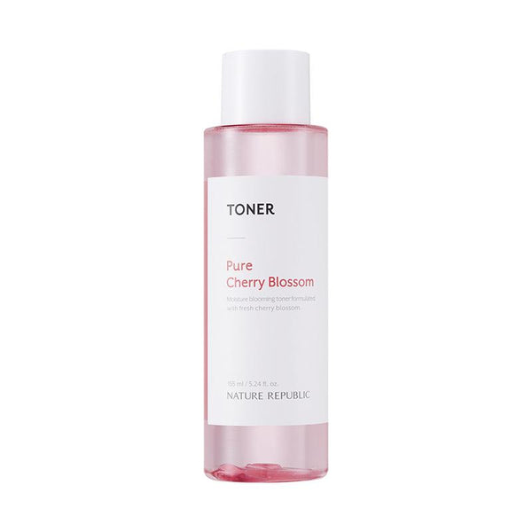 PURE CHERRY BLOSSOM GLOWING TONER, EMULSION & HAND & NATURE CHERRY BLOSSOM HAND CREAM