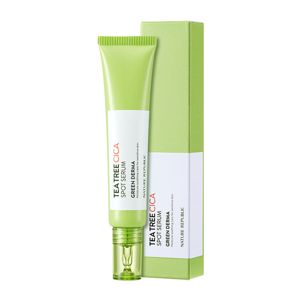 GREEN DERMA TEA TREE CICA SPOT SERUM