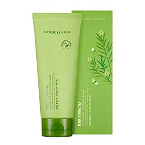 BEE VENOM CLEANSING FOAM - NatureRepublic USA