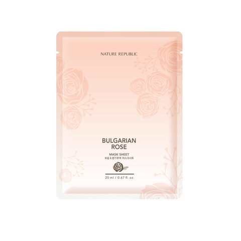 BULGARIAN ROSE ESSENTIAL MASK SHEET