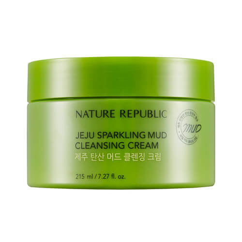 JEJU SPARKLING MUD CLEANSING CREAM - NatureRepublic USA